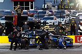 #78: Stefan Parsons, B.J. McLeod Motorsports, Toyota Supra SOKAL Digital pit stop
