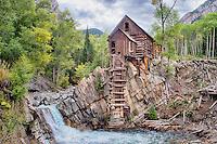 Crystal Mill near Marble, Colorado