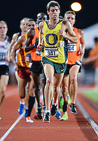May 25, 2013: Jeramy Elkaim of Oregon #941 competes in 5000 meters quarterfinal during NCAA Outdoor Track & Field Championships West Preliminary at Mike A. Myers Stadium in Austin, TX.