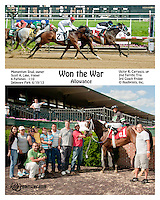 Won the War winning at Delaware Park on 6/19/13