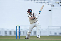 Jamie Overton, Surrey CCC cuts through point for four during Surrey CCC vs Hampshire CCC, LV Insurance County Championship Group 2 Cricket at the Kia Oval on 1st May 2021