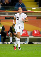 Alex Morgan.  Japan won the FIFA Women's World Cup on penalty kicks after tying the United States, 2-2, in extra time at FIFA Women's World Cup Stadium in Frankfurt Germany.
