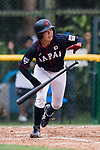 #13 Kanemitsu Ririna of Japan runs after bat during the BFA Women's Baseball Asian Cup match between South Korea and Japan at Sai Tso Wan Recreation Ground on September 2, 2017 in Hong Kong. Photo by Marcio Rodrigo Machado / Power Sport Images
