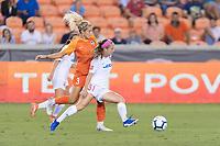 Houston, TX - Wednesday September 25, 2019: NWSL regular season match between the Houston Dash and the Washington Spirit at BBVA Stadium.