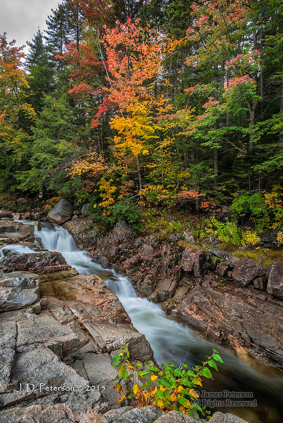 Autumn Afternoon at Rocky Gorge, New Hampshire