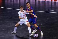 9th October 2020; Palau Blaugrana, Barcelona, Catalonia, Spain; UEFA Futsal Champions League Finals; FC Barcelona versus MFK KPRF;  Lin