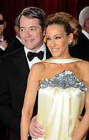 Los Angeles, CA 3-7-2010<br /> Matthew Broderick Sarah Jessica Parker<br /> 82nd Annual Academy Awards<br /> Photo by Nick Sherwood-PHOTOlink