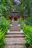 Thailand, Mae Hong Son. Fern Resort. Lobby.