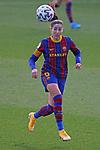 Liga IBERDROLA 2020-2021. Jornada: 18.<br /> FC Barcelona vs R. Madrid: 4-1.<br /> Vicky Losada.
