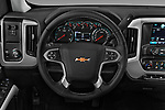 Car pictures of steering wheel view of a 2017 Chevrolet Silverado-3500HD LT-Crew-DRW 4 Door Pick-up Steering Wheel