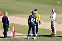 Daniel Bell-Drummond wins the toss and decides to bat during Kent Spitfires vs Gloucestershire, Vitality Blast T20 Cricket at The Spitfire Ground on 13th June 2021