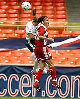 Canada's Christine Sinclair, USWNT vs Canada April 26, 2003.
