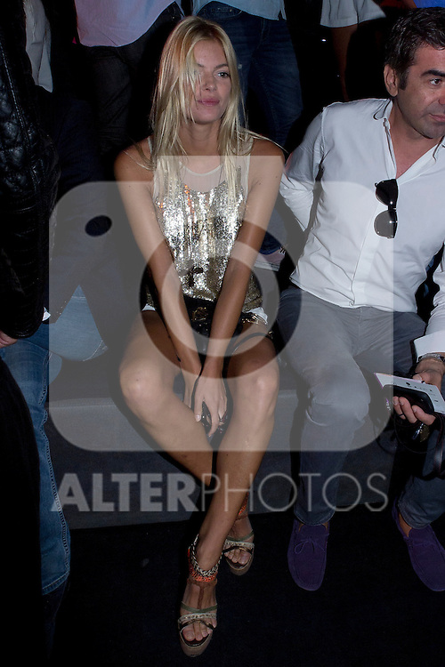 03.09.2012. Celebrities attending the TCN  fashion show during the Mercedes-Benz Fashion Week Madrid Spring/Summer 2013 at Ifema. In the image Cristina Tosio (Alterphotos/Marta Gonzalez)