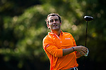 Ivan Ballesteros looks on during the Hyundai China Ladies Open 2014 on December 09 2014 at Mission Hills Shenzhen, in Shenzhen, China. Photo by Aitor Alcalde / Power Sport Images