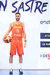 Player Joan Sastre during the official presentation of Spanish National Team of Basketball.  July 24, 2019. (ALTERPHOTOS/Francis Gonzalez)