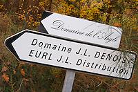 Domaine de l'Aigle and Domaine JL Denois. Domaine Jean Louis Denois. Domaine de l'Aigle. Limoux. Languedoc. France. Europe.