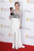 Chanel Cresswell<br /> in the winners room at the 2016 BAFTA TV Awards, Royal Festival Hall, London<br /> <br /> <br /> ©Ash Knotek  D3115 8/05/2016
