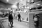 February 28, 2009<br /> Brooklyn, New York<br /> USA<br /> <br /> Atlantic Avenue's Circuit City one week before going out of business. All sales are final and everything in the store must go including the shelves and fixtures.