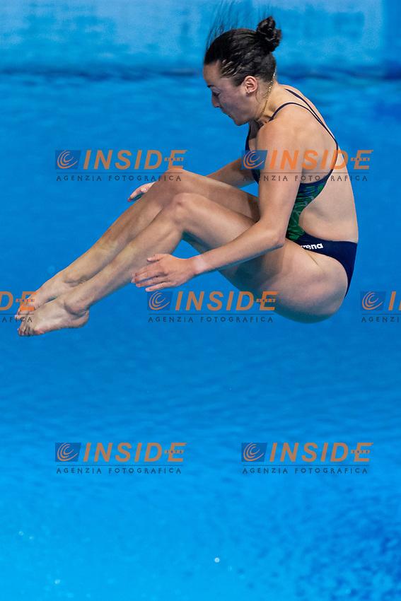 CRYAN Clare IRL<br /> 3m Springboard Women Preliminary<br /> Diving<br /> Budapest  - Hungary  15/5/2021<br /> Duna Arena<br /> XXXV LEN European Aquatic Championships<br /> Photo Giorgio Perottino / Deepbluemedia / Insidefoto