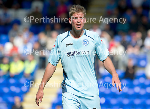 St Johnstone FC...Season 2012-13.Jamie Adams.Picture by Graeme Hart..Copyright Perthshire Picture Agency.Tel: 01738 623350  Mobile: 07990 594431