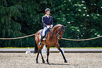 AUS-Christopher Burton rides Clever Luis during the Dressage for the CCI-S 4*. 2021 GBR-Bicton International Horse Trials. Devon. Great Britain. Thursday 10 June. Copyright Photo: Libby Law Photography