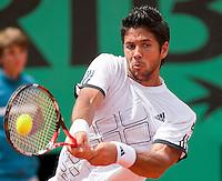 29-5-09, France, Paris, Tennis, Roland Garros, Fernando Verdasco