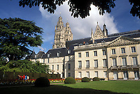 France, Tours, Indre-et-Loire, Loire Valley, Loire Castle Region, Centre, Europe, Musee des Beaux Arts in the city of Tours.