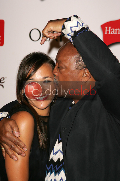 Rashida Jones and Quincy Jones<br />at the TV Guide Emmy After Party. Social, Hollywood, CA. 08-27-06<br />Dave Edwards/DailyCeleb.com 818-249-4998