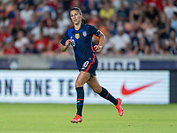 HOUSTON, TX - JUNE 13: Carli Lloyd #10 of the USWNT runs during a game between Jamaica and USWNT at BBVA Stadium on June 13, 2021 in Houston, Texas.