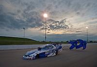 May 20, 2011; Topeka, KS, USA: NHRA funny car driver Robert Hight during qualifying for the Summer Nationals at Heartland Park Topeka. Mandatory Credit: Mark J. Rebilas-