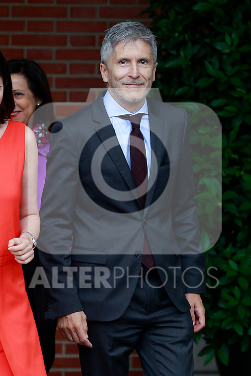 Fernando Grande-Marlaska, Minister of Interior after the first Council of Ministers of the new Government of Spain, chaired by Pedro Sanchez. June 8,2018. (ALTERPHOTOS/Acero)