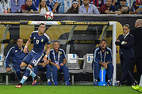 Houston, TX - Tuesday June 21, 2016: Ramiro Funes Mori during a Copa America Centenario semifinal match between United States (USA) and Argentina (ARG) at NRG Stadium.