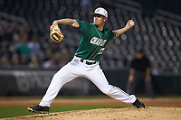 Charlotte 49ers starting pitcher Matt Horkey (22) in action against the Georgia Bulldogs at BB&T Ballpark on March 8, 2016 in Charlotte, North Carolina. The 49ers defeated the Bulldogs 15-4. (Brian Westerholt/Four Seam Images)