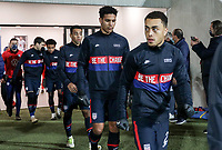 WIENER NEUSTADT, AUSTRIA - NOVEMBER 16: Sergino Dest #2 of the United States walking out during a game between Panama and USMNT at Stadion Wiener Neustadt on November 16, 2020 in Wiener Neustadt, Austria.
