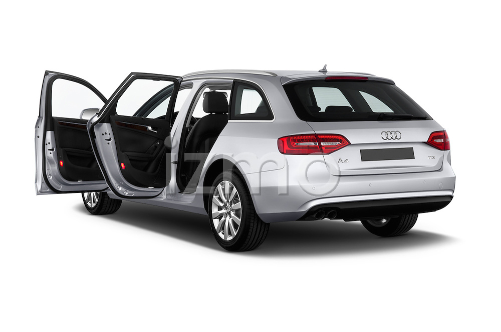 Rear three quarter door view of a 2014 Audi A4 AMBITION LUXE 5 Door Wagon 2WD
