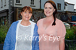 Enjoying the evening in the Ashe Hotel on Friday, l to r: Ann Marie Browne and Susan McNamara (Tralee).