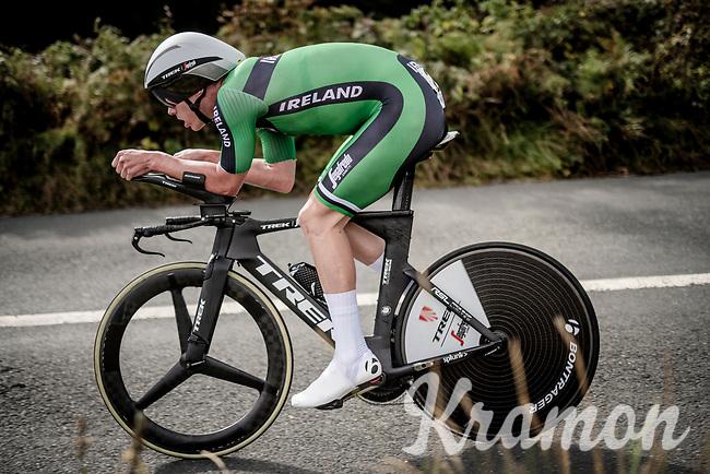 Ryan Mullen (IRL/Trek-Segafredo)<br /> Elite Men Individual Time Trial<br /> from Northhallerton to Harrogate (54km)<br /> <br /> 2019 Road World Championships Yorkshire (GBR)<br /> <br /> ©kramon
