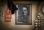 """A picture of the union leader Placido Rizzotto in the holiday farmhouse """"Portella della Ginestra"""". / Una foto di Placido Rizzotto all' Agriturismo di Portella della Ginestra."""