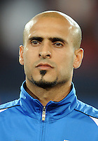 Basem Abbas of Iraq. Iraq and New Zealand tied 0-0 during the FIFA Confederations Cup at Ellis Park Stadium in Johannesburg, South Africa on June 20, 2009..