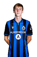 20th August 2020, Brugge, Belgium;  Jorne Spileers pictured during the team photo shoot of Club Brugge NXT prior the Proximus league football season 2020 - 2021 at the Belfius Base camp