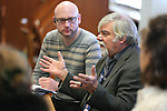 Jeff Kintop speaks to library representatives from Belarus during a tour at the Nevada State Library, Archives and Public Records in Carson City, Nev. on Friday, Jan. 27, 2017.<br /> Photo by Cathleen Allison/Nevada Photo Source