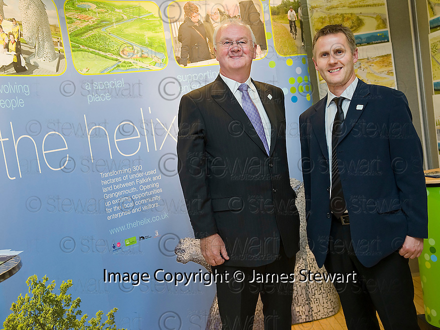 Falkirk Business Exhibition 2011<br /> The Helix Trust