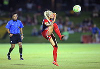 Boyds, MD - Wednesday Sept. 07, 2016: Line Sigvardsen Jensen during a regular season National Women's Soccer League (NWSL) match between the Washington Spirit and the Seattle Reign FC at Maureen Hendricks Field, Maryland SoccerPlex.