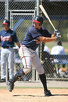 March 21st 2008:  Cody Johnson of the Atlanta Braves minor league system during Spring Training at Tiger Town in Lakeland, FL.  Photo by:  Mike Janes/Four Seam Images