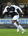 21/11/2009  Copyright  Pic : James Stewart.sct_jspa16_falkirk_v_hamilton  . :: PELE MAKES HIS DEBUT FOR FALKIRK :: .James Stewart Photography 19 Carronlea Drive, Falkirk. FK2 8DN      Vat Reg No. 607 6932 25.Telephone      : +44 (0)1324 570291 .Mobile              : +44 (0)7721 416997.E-mail  :  jim@jspa.co.uk.If you require further information then contact Jim Stewart on any of the numbers above.........