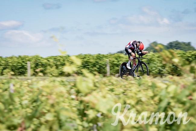 Brent Van Moer (BEL/Lotto Soudal)<br /> <br /> Stage 20 (ITT) from Libourne to Saint-Émilion (30.8km)<br /> 108th Tour de France 2021 (2.UWT)<br /> <br /> ©kramon