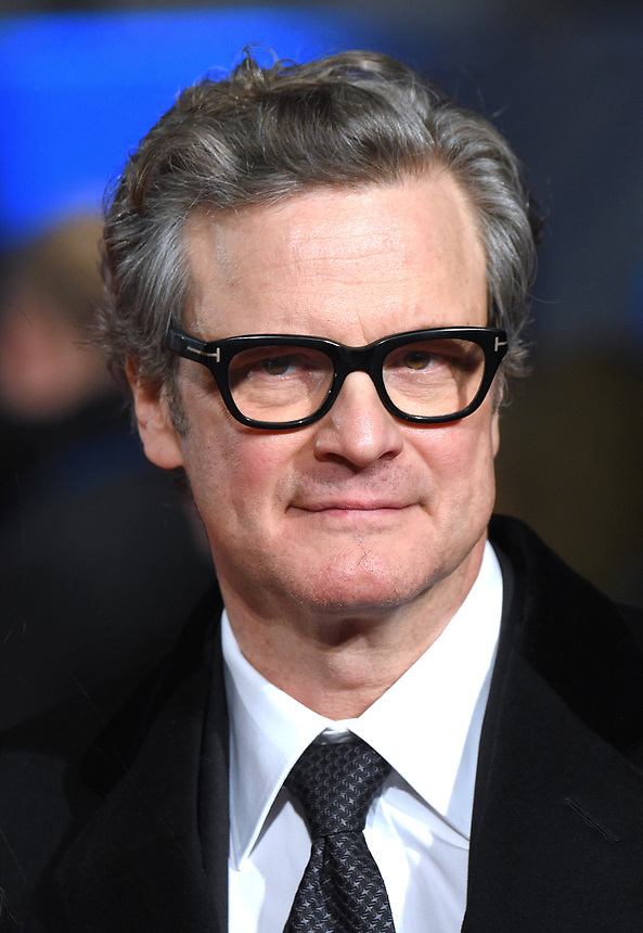 """Colin Firth<br /> arriving for the premiere of """"The Mercy"""" at the Curzon Mayfair, London<br /> <br /> <br /> ©Ash Knotek  D3375  06/02/2018"""