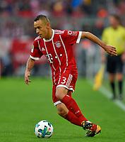 16.09.2017,  Football 1.Liga 2017/2018, 4. match day, FC Bayern Muenchen - 1.FSV Mainz 05, in Allianz-Arena Muenchen. Rafinha (FC Bayern Muenchen) . *** Local Caption *** © pixathlon<br /> <br /> +++ NED + SUI out !!! +++<br /> Contact: +49-40-22 63 02 60 , info@pixathlon.de