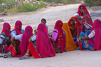 Village and rural life near Jodhpur, Rajasthan, India