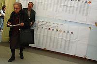 Elezioni Politiche per il rinnovo della Camera dei Deputati e del Senato 9 e 10 aprile 2006..Political elections for the renewal of the Chamber of Deputies and the Senate 9 and 10 April 2006....